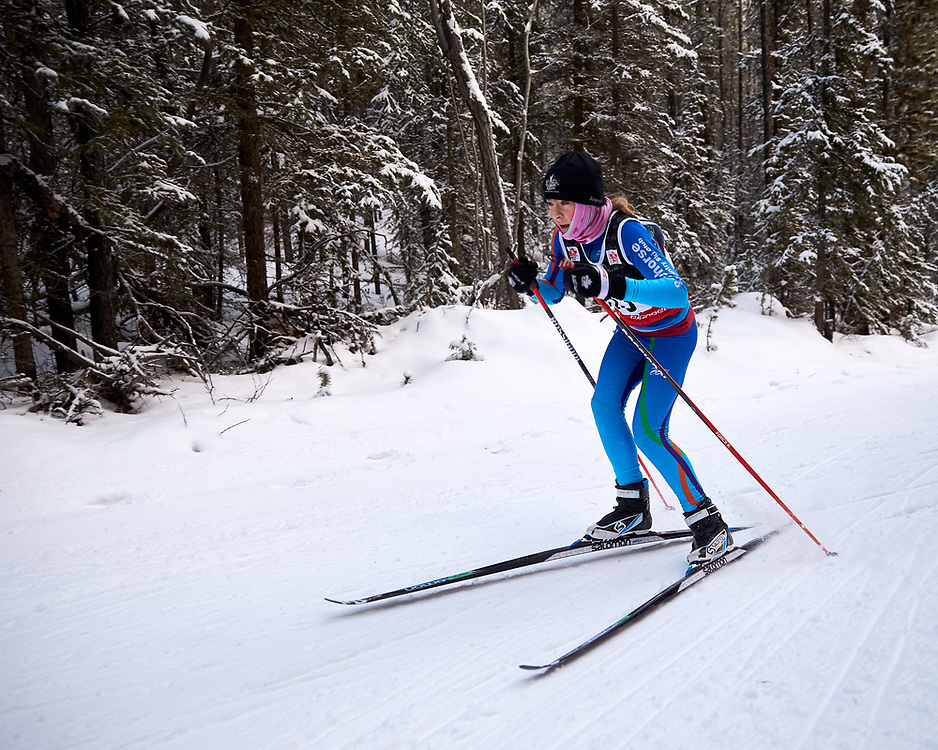 Cross country ski trials for the 2020 Arctic Winter Games occurred December 15, 2019 on Mt McIntyre.