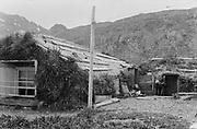 9707-K254.  native structure. Unalaska, June 22-24, 1917 Alaska