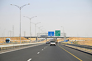Israel, Highway 6 north of Beer Sheva