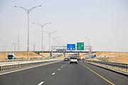 Israel, Highway 6 north of Beer Sheva
