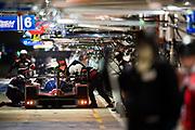 June 12-17, 2018: 24 hours of Le Mans. 35 SMP Racing, Dallara P217-Gibson, Viktor Shaytar, Norman Nato, Harrison Newey , pitstop