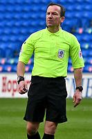 Football - 2020 / 2021 Sky Bet Championship - Cardiff City v Watford- Cardiff City Stadium<br /> <br /> referee Mr kEVIN sTROUD <br /> <br /> <br /> COLORSPORT/WINSTON BYNORTH