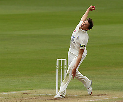 Durham's Paul Coughlin - Photo mandatory by-line: Robbie Stephenson/JMP - Mobile: 07966 386802 - 03/05/2015 - SPORT - Football - London - Lords  - Middlesex CCC v Durham CCC - County Championship Division One