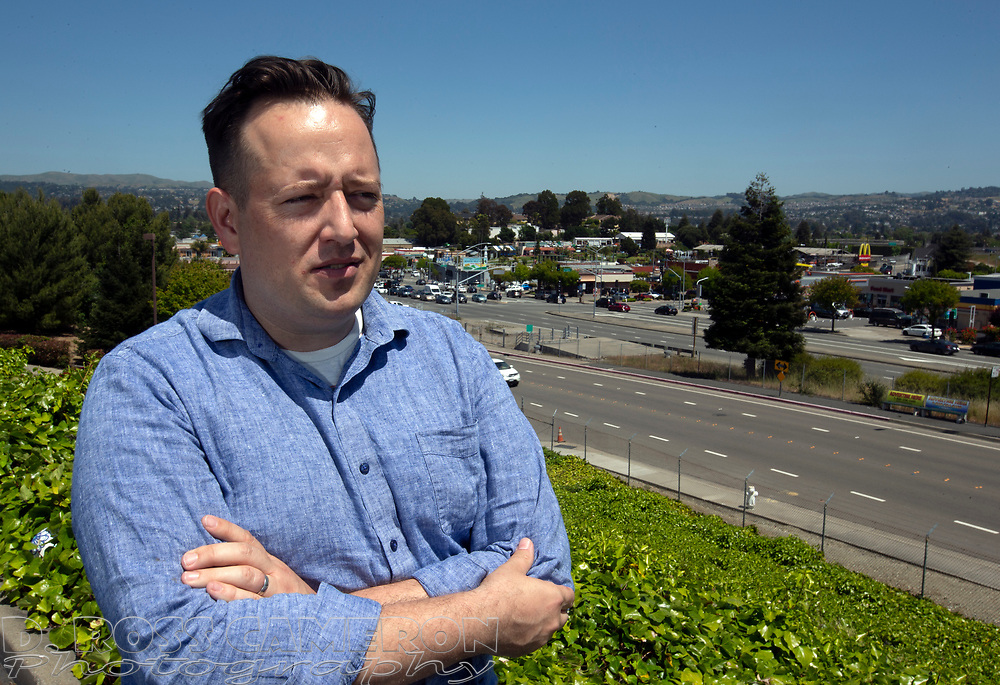 Mike Kusiak of Castro Valley, Calif. is seeking to have the Alameda County city incorporated; he posed for a photograph Saturday, May 11, 2019. (Photo by D. Ross Cameron)