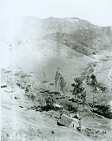 1924 Lake Hollywood & Dam site in the Cahuenga Pass