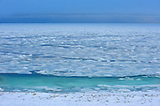 HUsdon Bay freezing up in early winter<br /> Churchill<br /> Manitoba<br /> Canada