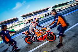 May 18, 2018 - Le Mans, France - 26 DANI PEDROSA (ESP) REPSOL HONDA TEAM (JPN) HONDA RC213V (Credit Image: © Panoramic via ZUMA Press)