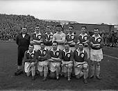 1957 - Soccer: League of Ireland v Irish League at Dalymount Park