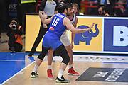 Amedeo Tessitori , Vladimir Ivlev<br /> Nazionale Italiana Maschile Senior<br /> FIBA Eurobasket Qualifiers 2021<br /> Group B<br /> Italia Italy Russia Russia 83 64<br /> Napoli 20.02.2020<br /> Foto GiulioCiamillo/Ciamillo