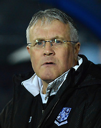 Tranmere Rovers Manager, Micky Adams looks on - Photo mandatory by-line: Richard Martin-Roberts/JMP - Mobile: 07966 386802 - 03/03/2015 - SPORT - football - Tranmere - Prenton Park - Tranmere Rovers v Wycombe Wanderers - Sky Bet League Two