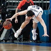 Fenerbahce Ulker's Emir Preldzic during their Euroleague Basketball Game 7 match Fenerbahce Ulker between Olympiacos at Sinan Erdem Arena in Istanbul, Turkey, Thursday, December 01, 2011. Photo by TURKPIX