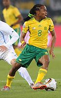 Fotball<br /> VM 2010<br /> Uruguay v Sør Afrika<br /> 16.06.2010<br /> Foto: Insidefoto/Digitalsport<br /> NORWAY ONLY<br /> <br /> Siphiwe Tshabalala (Sudafrica)