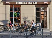 """Kultowy klub """"Drukarnia"""" w Podgórzu, Kraków, Polska<br /> The cult club """"Drukarnia"""" in Podgórze, Cracow, Poland"""