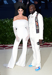 Kendall Jenner and Virgil Abloh attending the Metropolitan Museum of Art Costume Institute Benefit Gala 2018 in New York, USA.
