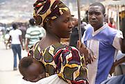Rwanda, Kigali Local Woman in the market