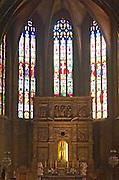 Cathedral SaintJean interior. Perpignan, Roussillon, France.