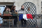 """REPUBLICAN IN PARIS ON TERRORISM AND IN MEMORY OF VICTIMS OF ATTACKS IN THE JOURNAL """"WEEKLY CHARLIE"""" AND SUPERMARKET """"HYPER HIDE"""".<br /> ©Exclusivepix Media"""