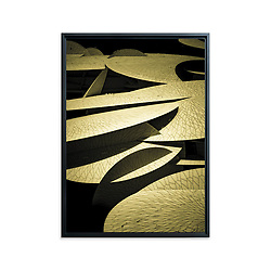 National Museum of Qatar, Doha • Original photographic work by Antoine Duhamel • Direct print on brushed brass.