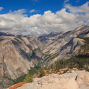 North Dome And Tenaya Canyon - Yosemite