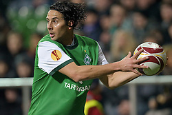 25.02.2010, Weser Stadion, Bremen, GER, UEFA Europa League, Werder Bremen vs FC Twente Enschede,  Runde Letzte 32 Rueckspiel, im Bild  Claudio Pizarro ( Werder  #24 ) EXPA Pictures © 2010, PhotoCredit: EXPA/ nph/  Kokenge / for Slovenia SPORTIDA PHOTO AGENCY.