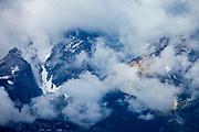 Teton Mountains from Teton View Turnout, Grand Teton National Park