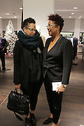 New York, NY-December 3: (L-R) Sandra Jackson, MoMa and Author/Designer Harriete Cole attends Harriette Cole's 20th Anniversary Business Celebration held at Lafayette 148 Headquarters on December 3, 2015 in New York City.  (Photo by Terrence Jennings/terrencejennings.com)