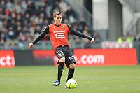 FOOTBALL - FRENCH CHAMPIONSHIP 2012/2013 - L1 - STADE RENNAIS v PARIS SAINT GERMAIN - RENNES (FRA) - 6/04/2013 - PHOTO PASCAL ALLEE / DPPI - ANDERS KONRADSEN (REN)