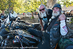 Born Free 6 bike show pre-party at Cooks Corner. Trabuco Canyon, CA. USA. June 27, 2014.  Photography ©2014 Michael Lichter.