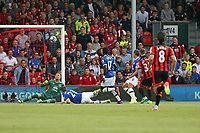 Football - 2016 / 2017 Premier League - AFC Bournemouth vs. Everton<br /> <br /> Bournemouth's Jack Wilshere goes close to scoring as his shot deflects up onto the bar at Dean Court (The Vitality Stadium) Bournemouth<br /> <br /> Colorsport/Shaun Boggust