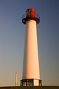 Lighthouse at Waterfront Center, Long Beach, California.