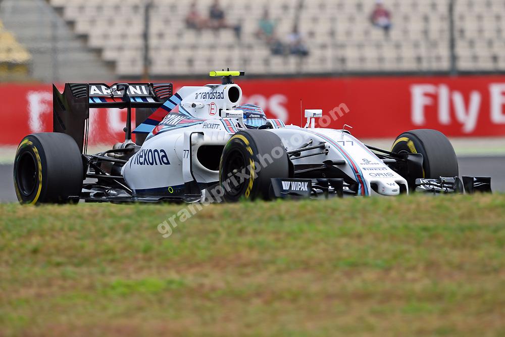 Valtteri Bottas (Williams-Mercedes) during practice for the 2016 German Grand Prix in Hockenheim. Photo: Grand Prix Photo