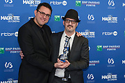 Brussels , 01/02/2020 : Les Magritte du Cinema . The Academie Andre Delvaux and the RTBF, producer and TV channel , present the 10th Ceremony of the Magritte Awards at the Square in Brussels . <br /> Pix : Olivier Masset-Depasse; Giordano Gederlini<br /> Credit : Olivier Polet / Isopix