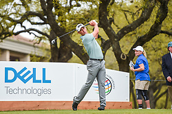 March 23, 2018 - Austin, TX, U.S. - AUSTIN, TX - MARCH 23: Charles Howell III tees off during the third round of the WGC-Dell Technologies Match Play on March 23, 2018 at Austin Country Club in Austin, TX. (Photo by Daniel Dunn/Icon Sportswire) (Credit Image: © Daniel Dunn/Icon SMI via ZUMA Press)