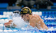 6/29/08 Omaha, NEB.Scott Usher swims in the 100M Breaststroke during the Olympic Trials in Omaha..Chris Machian/Grand Island Independent