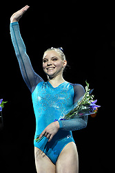 August 19, 2018 - Boston, Massachussetts, U.S - JADE CAREY won sixth place in the all around at the competition held at TD Garden in Boston, Massachusetts. (Credit Image: © Amy Sanderson via ZUMA Wire)