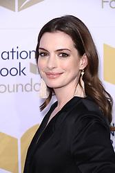 November 15, 2017 - New York City, New York, USA - 11/15/17.Anne Hathaway at The 68th National Book Awards in New York City. (Credit Image: © Starmax/Newscom via ZUMA Press)