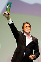 "20091207: RIO DE JANEIRO, BRAZIL - Brazilian Football Awards 2009 (""Craque Brasileirao 2009""), held at the Museum of Modern Art in Rio de Janeiro. In picture: Petkovic (Flamengo) - Best left midfielder. PHOTO: CITYFILES"
