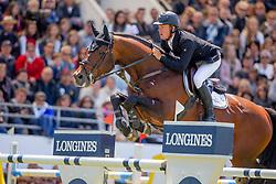 Greve Willem, (NED), Eldorado van de Zeshoek <br /> Grand Prix Longines - Ville de La Baule - La Baule 2016<br /> © Hippo Foto - Dirk Caremans<br /> 15/05/16