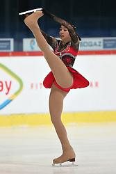 05.12.2015, Dom Sportova, Zagreb, CRO, ISU, Golden Spin of Zagreb, freies Programm, Damen, im Bild Thita Lamsam, Thailand. // during the 48th Golden Spin of Zagreb 2015 ladys Free Program of ISU at the Dom Sportova in Zagreb, Croatia on 2015/12/05. EXPA Pictures © 2015, PhotoCredit: EXPA/ Pixsell/ Davor Puklavec<br /> <br /> *****ATTENTION - for AUT, SLO, SUI, SWE, ITA, FRA only*****