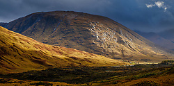 Stormy autumn weather in Glen Etive, Highlands of Scotland<br /> <br /> (c) Andrew Wilson | Edinburgh Elite media