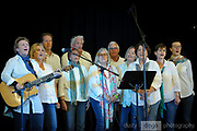 The Beverley Station Singers choir performing at the Guildford Town Hall as part of the 2018 Guildford Songfest