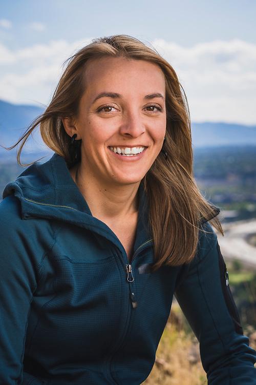 Founder of Elevated Mountain Guides Nikki McGee, Salt Lake City, Utah.