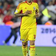 Romania's Adrian Mutu during their FIFA World Cup 2014 qualifying soccer match Turkey betwen Romania at Sukru Saracoglu stadium in Istanbul october 12, 2012. Photo by TURKPIX