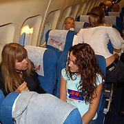 Miss Nederland 2003 reis Turkije, Miss Flevoland, Natascha Romans van Schaik + Kimberly Kleczka