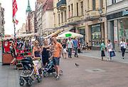 Toruń (województwo kujawsko-pomorskie) 22.07.2016. Centrum miasta.