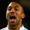 Football - Premier League - Manchester City vs. Manchester United<br /> Gael Clichy of Manchester City cheers as his side secure victory at the Etihad Stadium