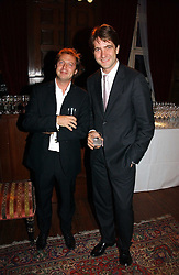 Left to right, MATTHEW FREUD and KRIS THYKIER at The Hospital Awards - to honour talent in the creative industry, held at 9 Grosvenor Place, London on 3rd october 2006.<br /><br />NON EXCLUSIVE - WORLD RIGHTS