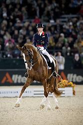 Bechtolsheimer Laura (GBR) and  Mistral Hojris came in second int he Kür<br /> Alltech FEI World Equestrian Games <br /> Lexington - Kentucky 2010<br /> © Dirk Caremans