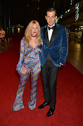 MARK RONSON and JOSEPHINE DE LA BAUME at the GQ Men of The Year Awards 2016 in association with Hugo Boss held at Tate Modern, London on 6th September 2016.