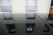 Friday August 8th 2008. .Levallois Perret (Hauts de Seine), France..In the street..Rue de Villiers.